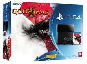 Précommande: Pack PS4 Noire + God of War 3 Remastered + Evolve