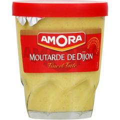 Verre à Moutarde de Dijon Amora 150g gratuit