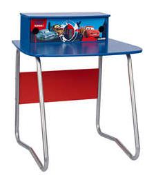 Bureau enfant Cars 2 tiroirs - Bleu