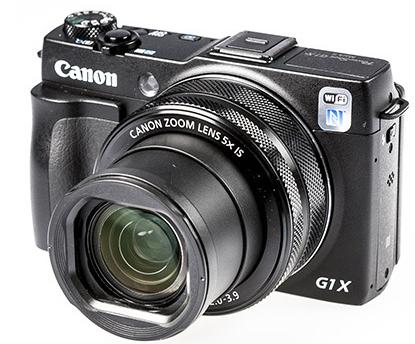 Appareil photo Canon PowerShot G1 X Mark II (via ODR de 40€)