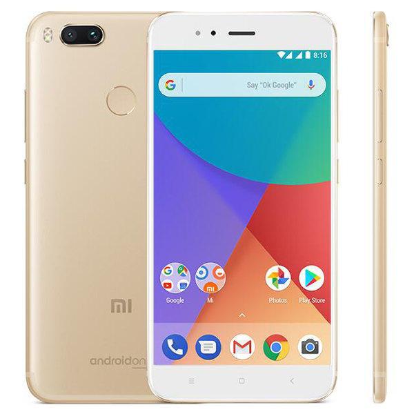 """Smartphone 5,5"""" Xiaomi Mi A1 - Full HD, Snapdragon 625, RAM 4Go, 64Go, 4G (B20), Or"""