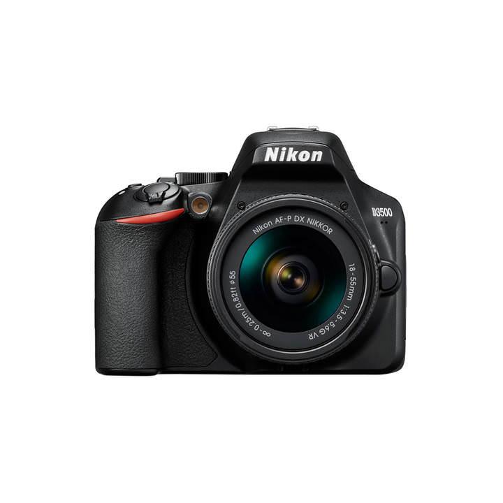 Appareil Photo Numérique Reflex Nikon D3500 24.2MP + AF-P DX 18-55 VR DX (Frontaliers Suisse)