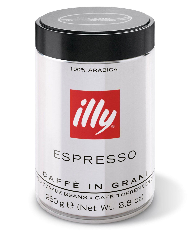 Café en Grain Espresso Illy  - Torréfaction Foncée  250g
