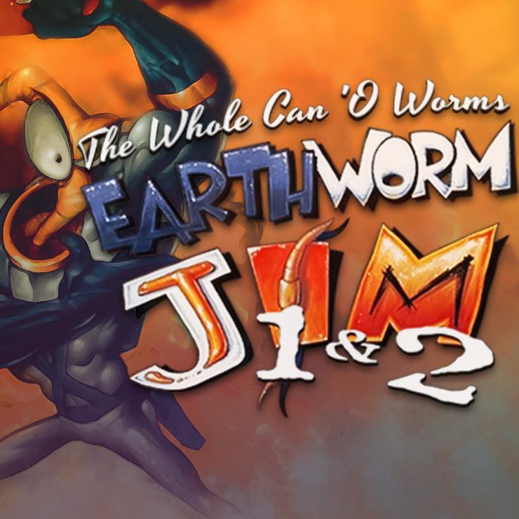 Earthworm Jim 1+2: The Whole Can 'O Worms sur PC (Dématérialisé - DRM-Free)