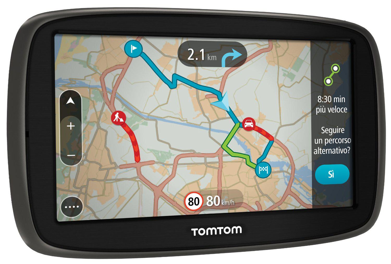 """GPS 5"""" TomTom GO 50 Europe 45 Cartographie et trafic à vie (ODR 30€)"""