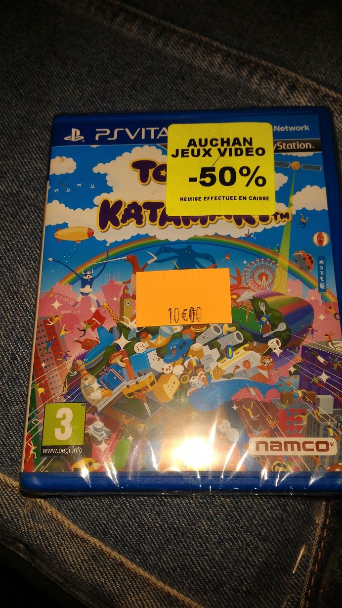Touch My Katamari sur PS Vita
