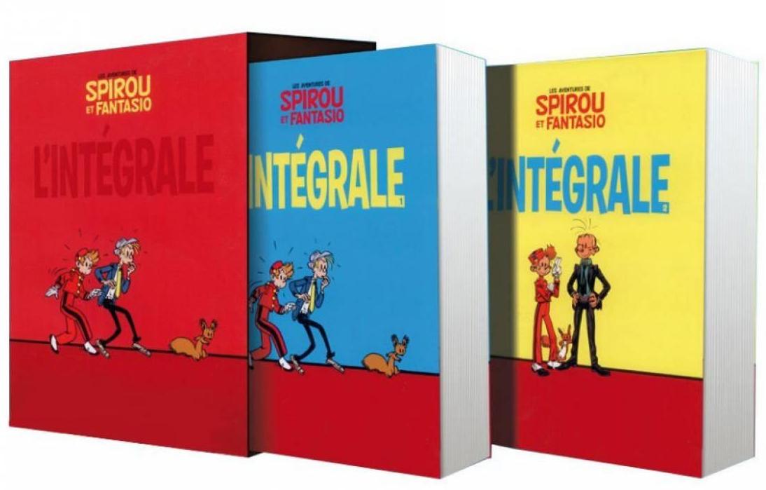 Bande dessinée Spirou et Fantasio - L'intégrale - 53 albums