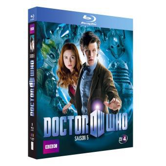 Blu-ray Doctor Who saison 5