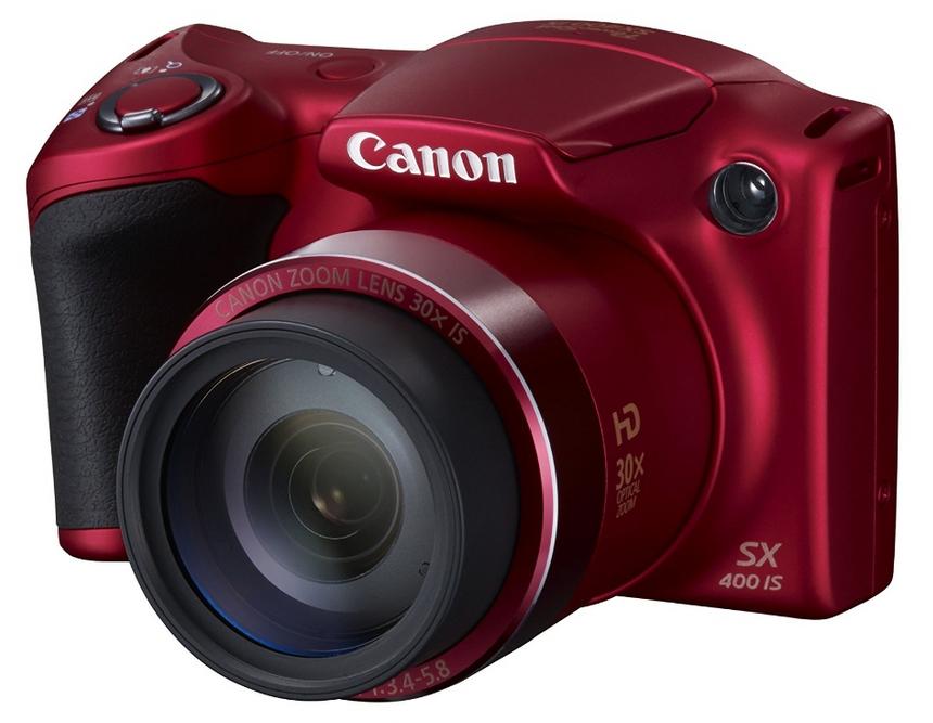 Appareil Photo Canon PowerShot SX400 IS Rouge