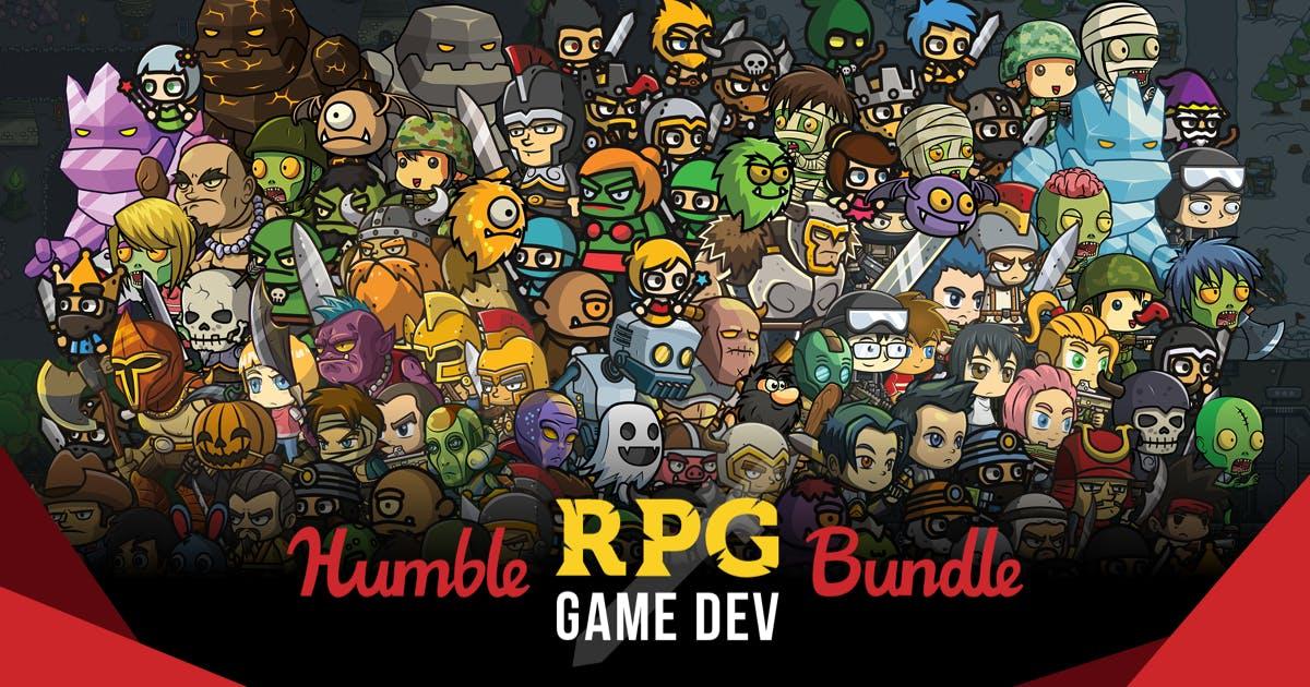 Humble RPG Game Dev Bundle (Dématérialisé) à partir de 0,88€