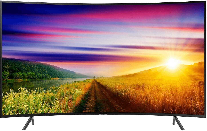 """TV incurvée 55"""" Samsung UE55NU7305 - 4K UHD, HDR, LED, Smart TV"""