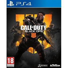Call of Duty : Black Ops IV sur PS4 (+2,25 € offerts sur vos prochains achats)