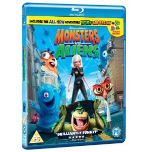 Monstres contre Aliens en BluRay