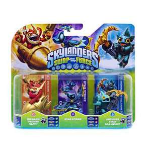 Figurines Skylanders Swap Force :  Star Strike + Anchors Away Gill Grunt + Big Bang Trigger Happy