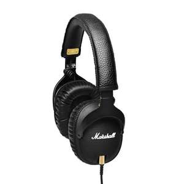 Casque Hi-Fi Marshall Monitor avec microphone - Noir