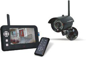 Système de Surveillance Numérique Sans Fil - Elro CS95DVR