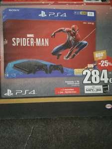 Pack Console Sony PS4 + Spiderman + 2 manettes - Frontaliers Belgique
