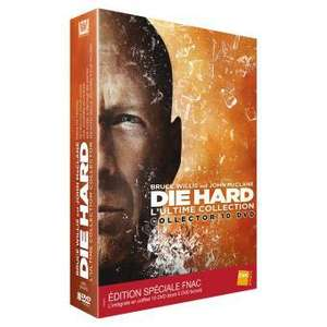 Coffret intégrale DVD Die Hard Collector inclus DVD bonus