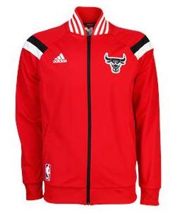 adidas Anthem Jacket Chicago Bulls