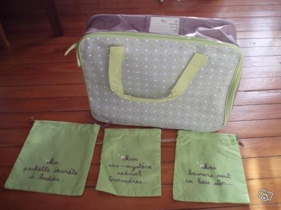sac maternité + 3 pochettes