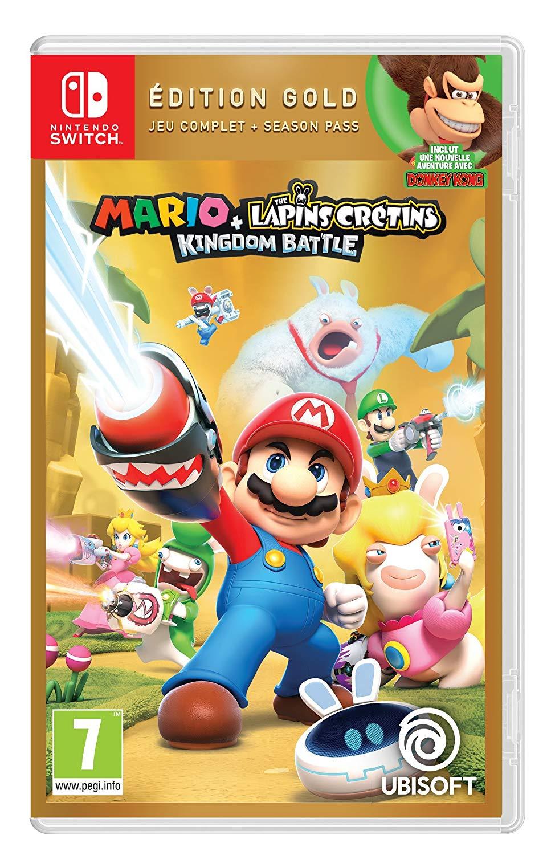Mario + The Lapins Crétins Kingdom Battle - Edition Gold sur Nintendo Switch