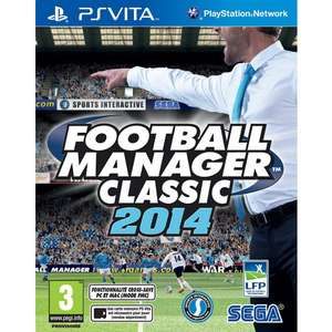 Football Manager Classic 2014 sur PS Vita