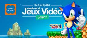 Week-end de jeux gratuit sur la TV d'Orange