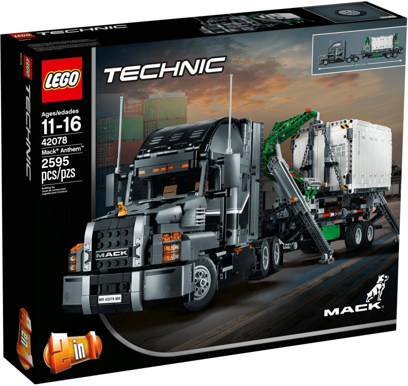 Jouet Lego Technic - Mack Anthem (42078)