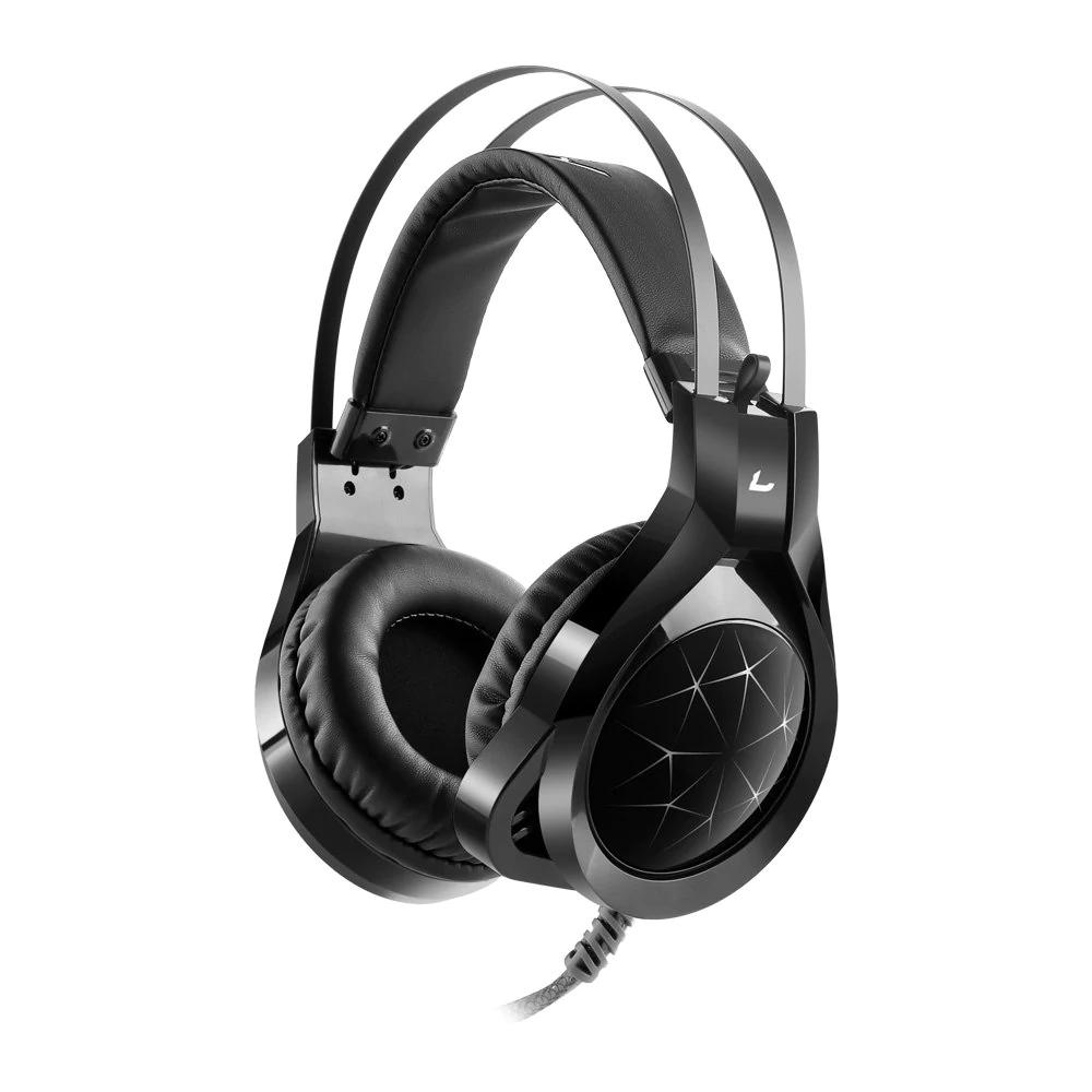 Casque audio 7.1 MadGiga CZ - avec micro, noir