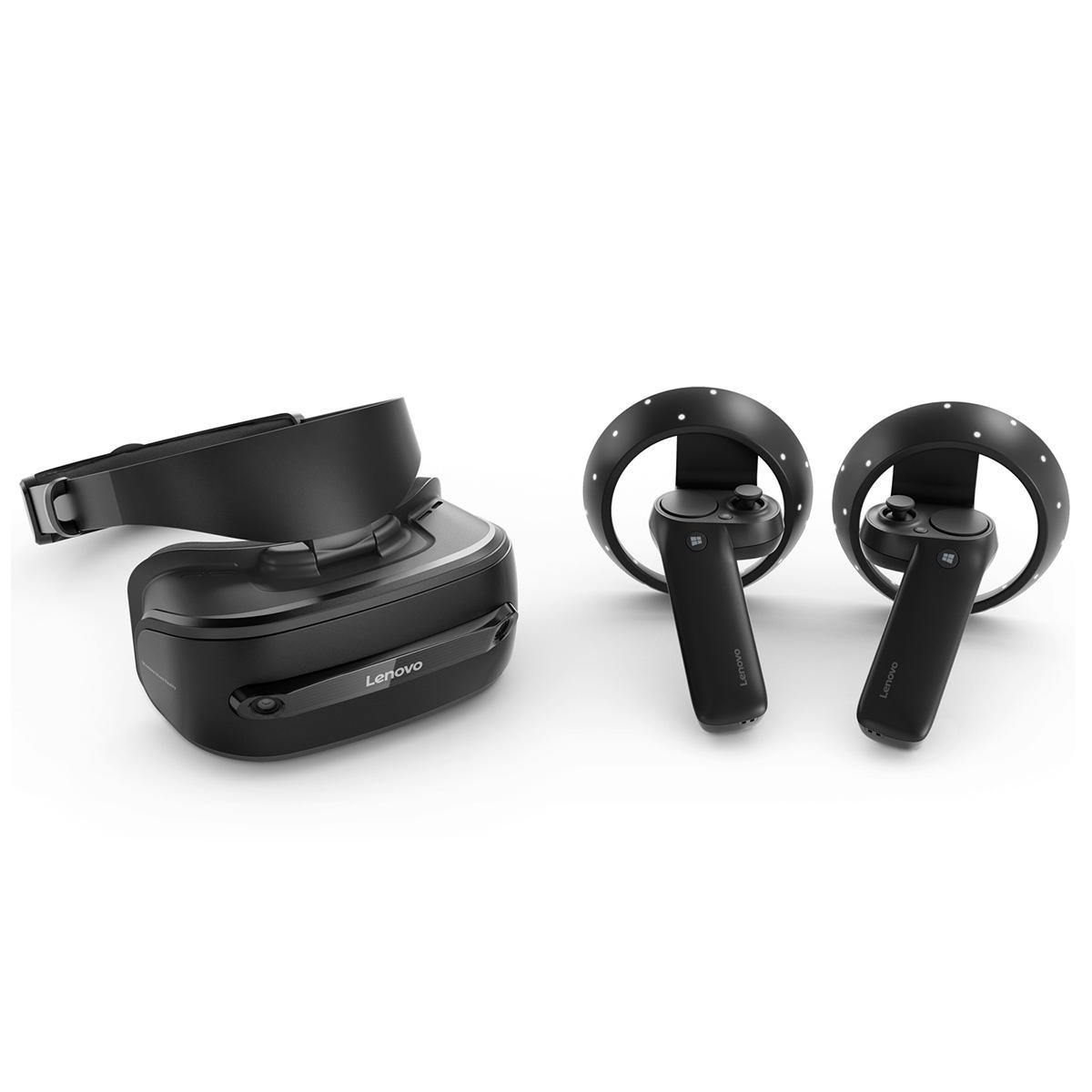 Casque VR Lenovo Explorer + Controlleurs