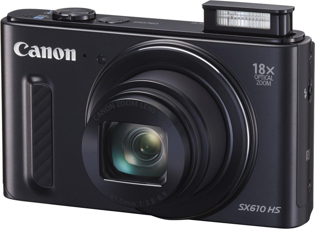 Appareil photo Canon PowerShot SX610 HS Wifi - Noir (avec ODR 20€)