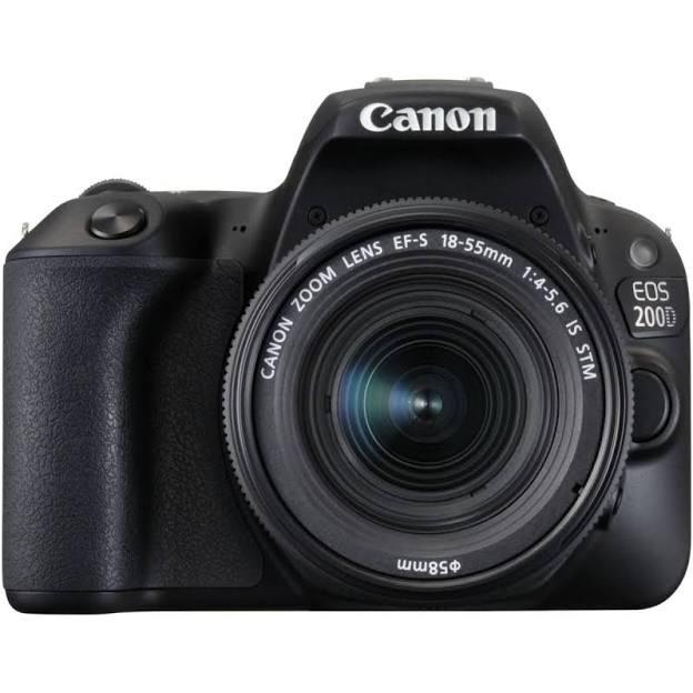Appareil photo Reflex numérique Canon EOS 200D + Objectif EF-S 18-55mm f/4-5,6 is STM