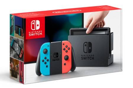 Console Nintendo Switch avec paire de Joy-Con inclus + Housse (via 90.74€ en bon d'achat) - Bois d'Arcy (78)
