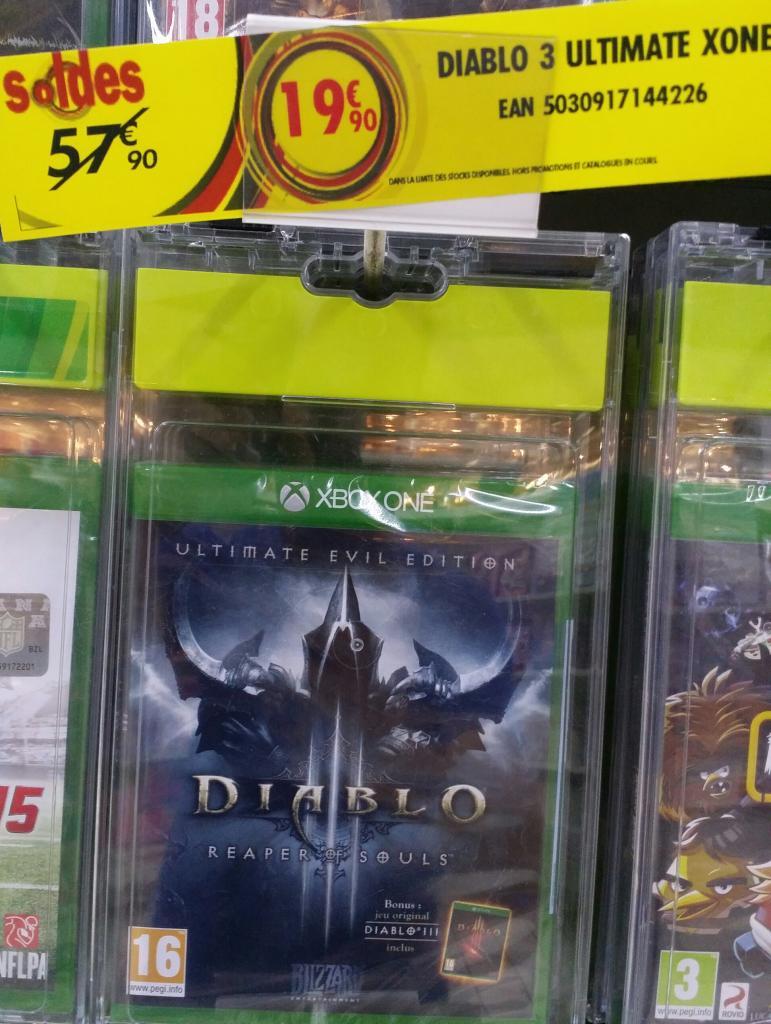 Selection de jeux Xbox One. Ex : Diablo 3 Ultimate sur Xbox One