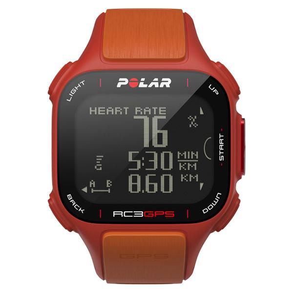 Montre running Polar RC3 GPS HR avec ceinture de fréquence cardiaque Polar H3