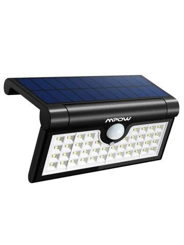 Luminaire solaire exterieur Mpow - 42 LED