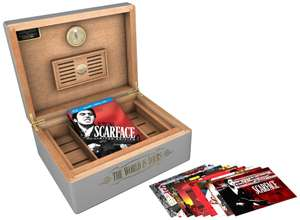 Coffret Blu-Ray Scarface Limited edition humidor