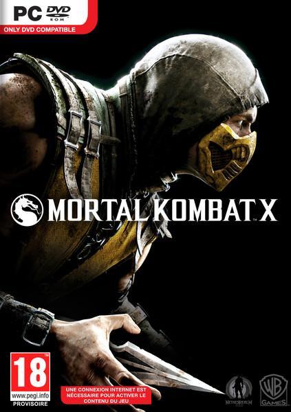 Mortal Kombat X version boite sur PC