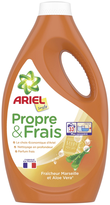 Bidon de Lessive Ariel Simply (Via BDR de 2€)