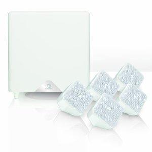 pack Enceintes Boston Accoutics Soundware XS 5.1 blanc