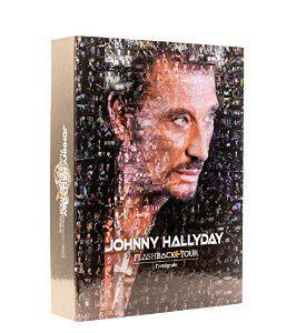 Coffret CD Johnny Hallyday : Flashback tour - Intégrale Deluxe (2 DVD + 2 CD + CD 4 titres + CD single + Livret 24 pages)