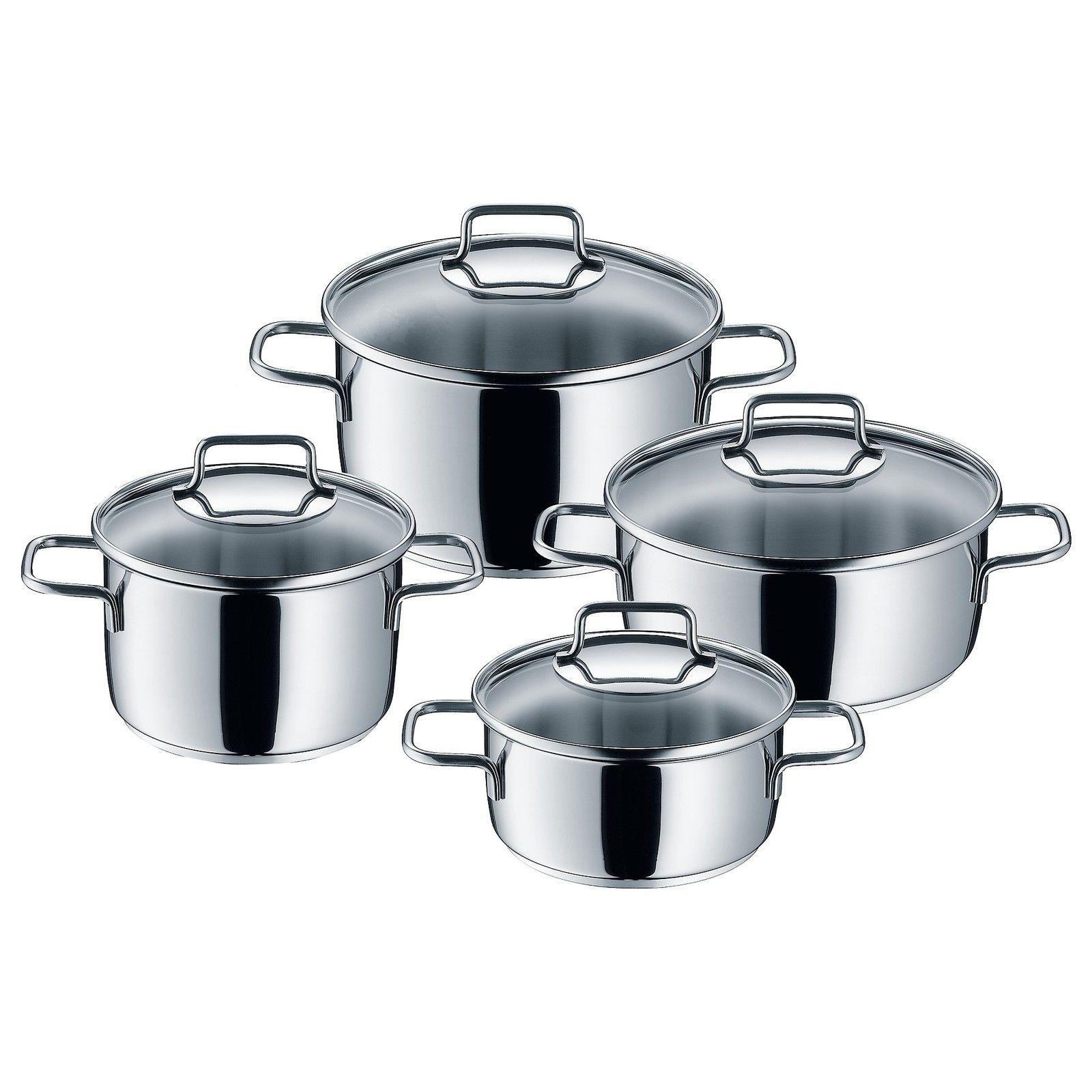 Batterie de cuisine 4 pièces Astoria Cromargan induction