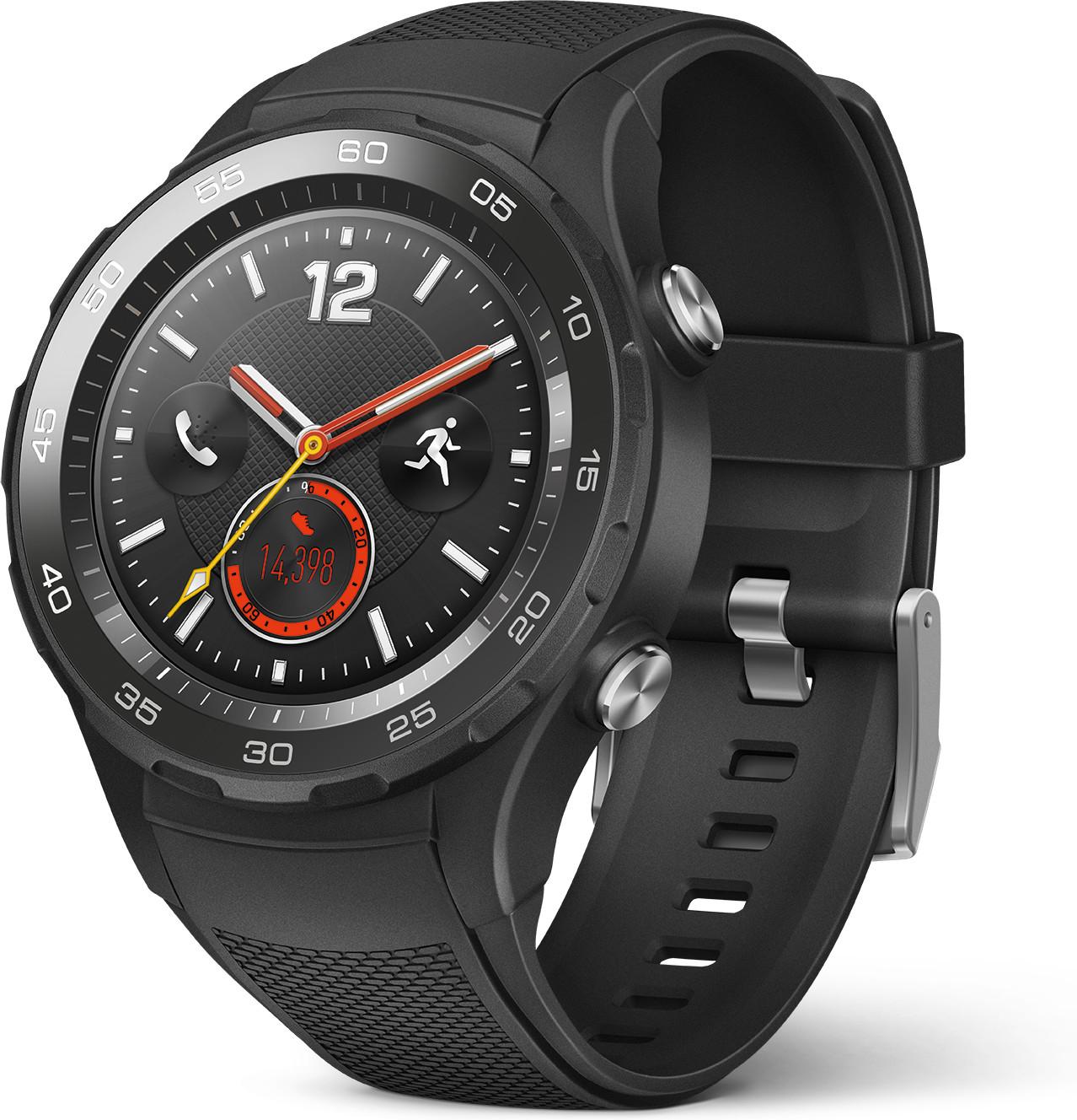Montre connectée Huawei Watch 2 Sport - noir