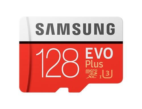 Carte micro SD Samsung Evo PLUS U3 (100MB/s) - 128 Go (gearvita.com)