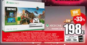 Sélection d'articles en promotion - Ex : Console Microsoft Xbox One S - 1 To édition Fortnite, Cora (Frontaliers Belgique)