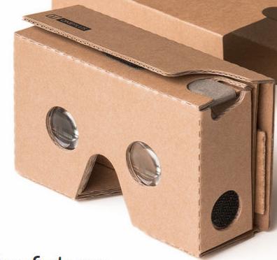 Google Cardboard 2.0 gratuit (7€ de frais de port)