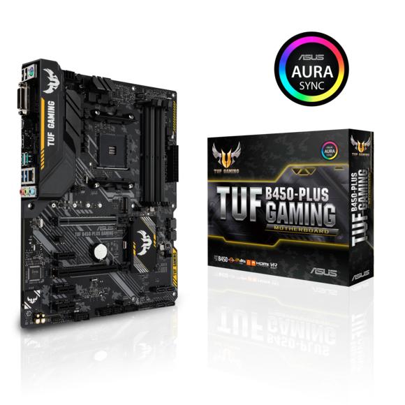 Carte mère Asus TUF B450-Plus Gaming