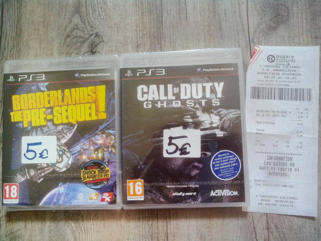 Sélection de jeux PS3, Xbox 360