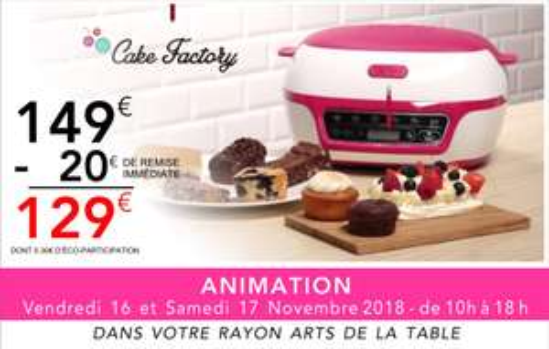 Tefal Cake Factory - Gouesnou (29)