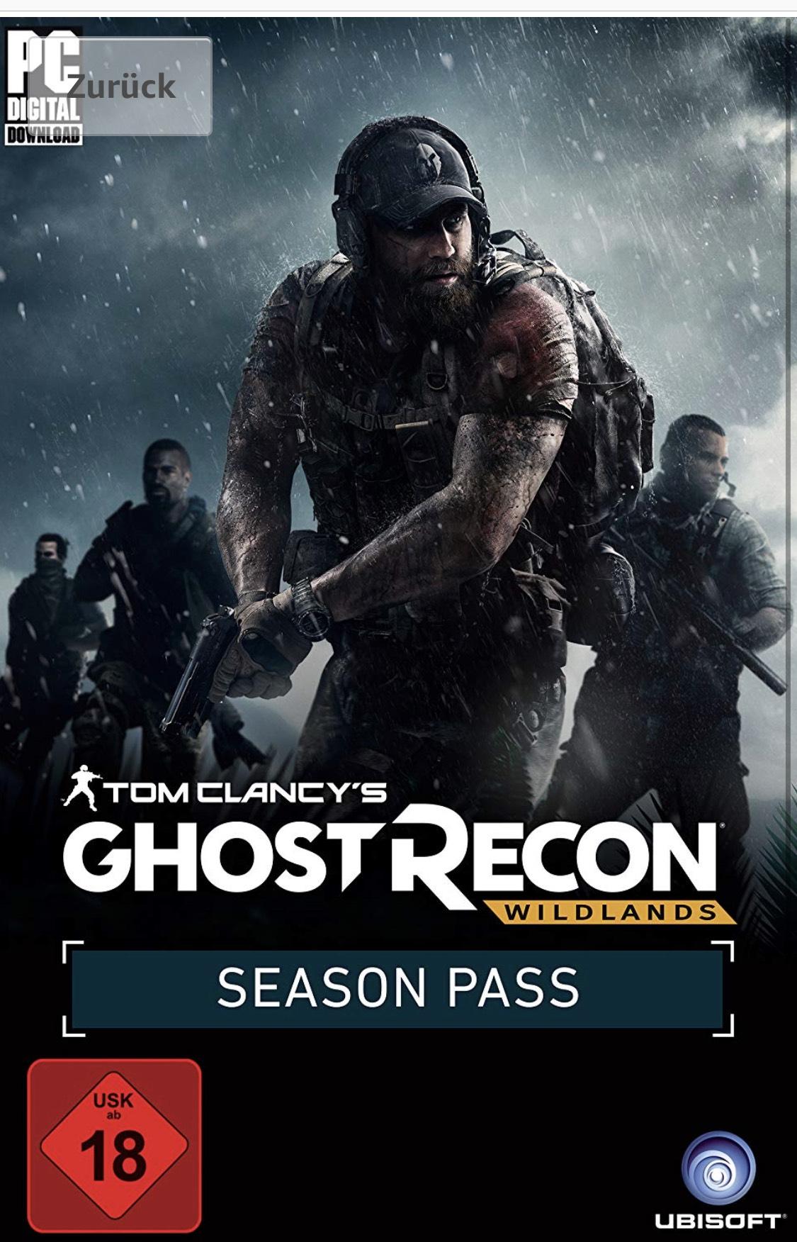Tom Clancy's Ghost Recon: Wildlands Season Pass (dématérialisé - Uplay)